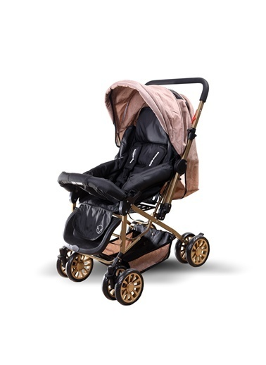 ESY LİNE Esy Line Çift Yönlü Bebek Arabası Gold-Bej  Altın